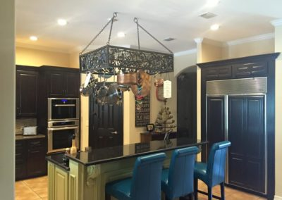 Traditional Kitchen Design Renovation showing Pantry Stove and Large Fridge