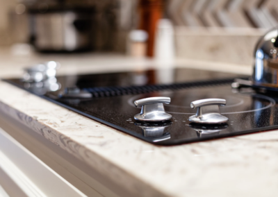 CQR Kitchen Remodel Stove top knobs