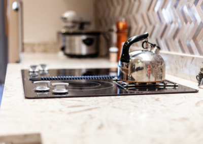 CQR Kitchen Remodeled Stove top