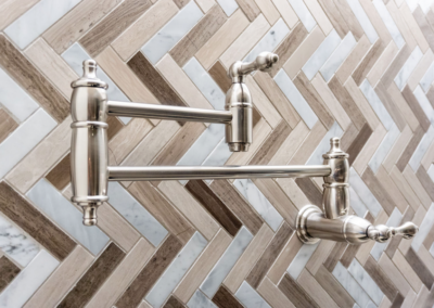 CQR Remodeled Kitchen Water Faucet